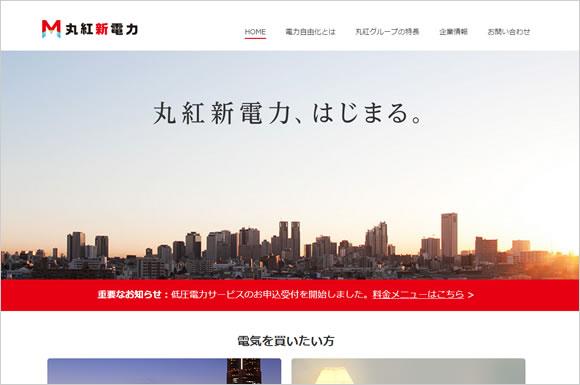 丸紅グループの「丸紅新電力株式会社」が家庭向け電力小売りを発表