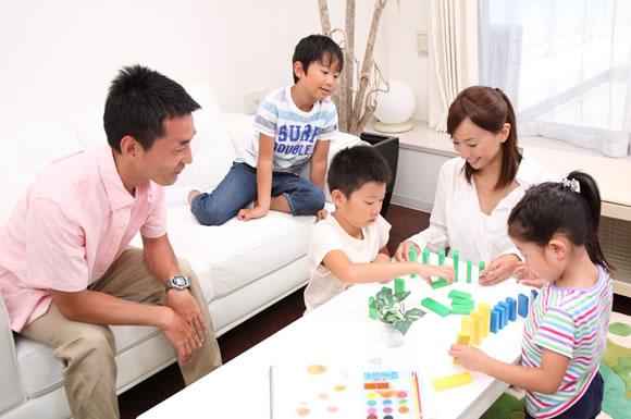 家族団らんの省エネ効果と工夫!家族の生活の仕方で節電しよう