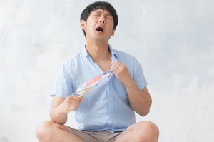衣服から暑さ対策