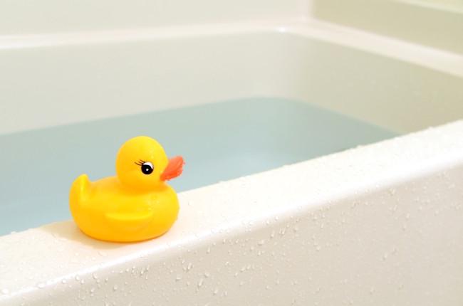 お風呂とアヒル