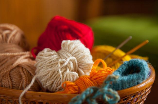 編み物の道具