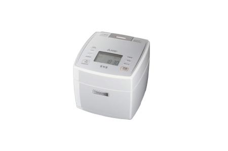 三菱電機 IHジャー炊飯器 備長炭炭炊釜 5.5合炊き  NJ-VE108-W