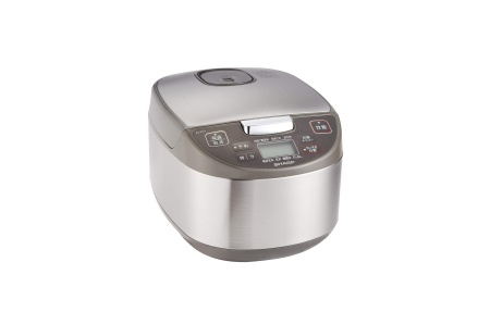 シャープ 炊飯器  黒厚釜 球面炊き KS-S10J-S