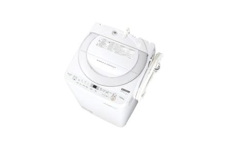 シャープ 全自動洗濯機 ES-GE7B-W (ホワイト系)