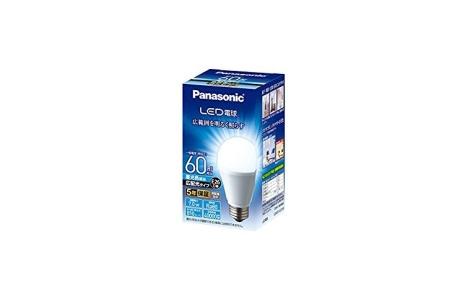 パナソニック LED電球 7.0W(昼光色相当) LDA7DGEW