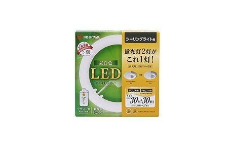 アイリスオーヤマ 丸形LEDランプ LDCL3030SS