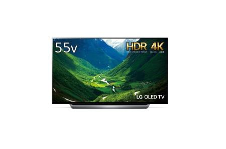 LG 55V型 4K 有機EL テレビ OLED55C8PJA