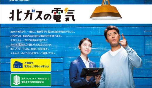 北海道ガス(北ガスの電気)